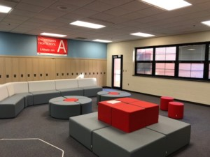 Student Lounge Inside High School